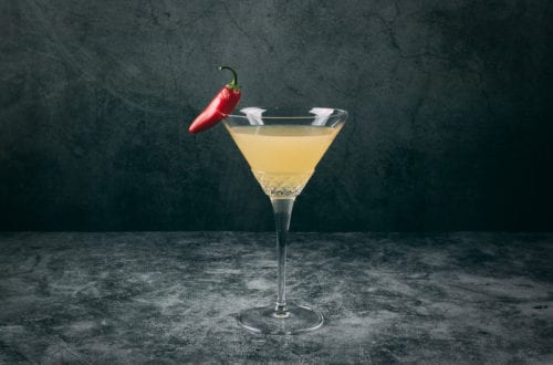 Spicy Fifty Cocktail - Just Shake or Stir